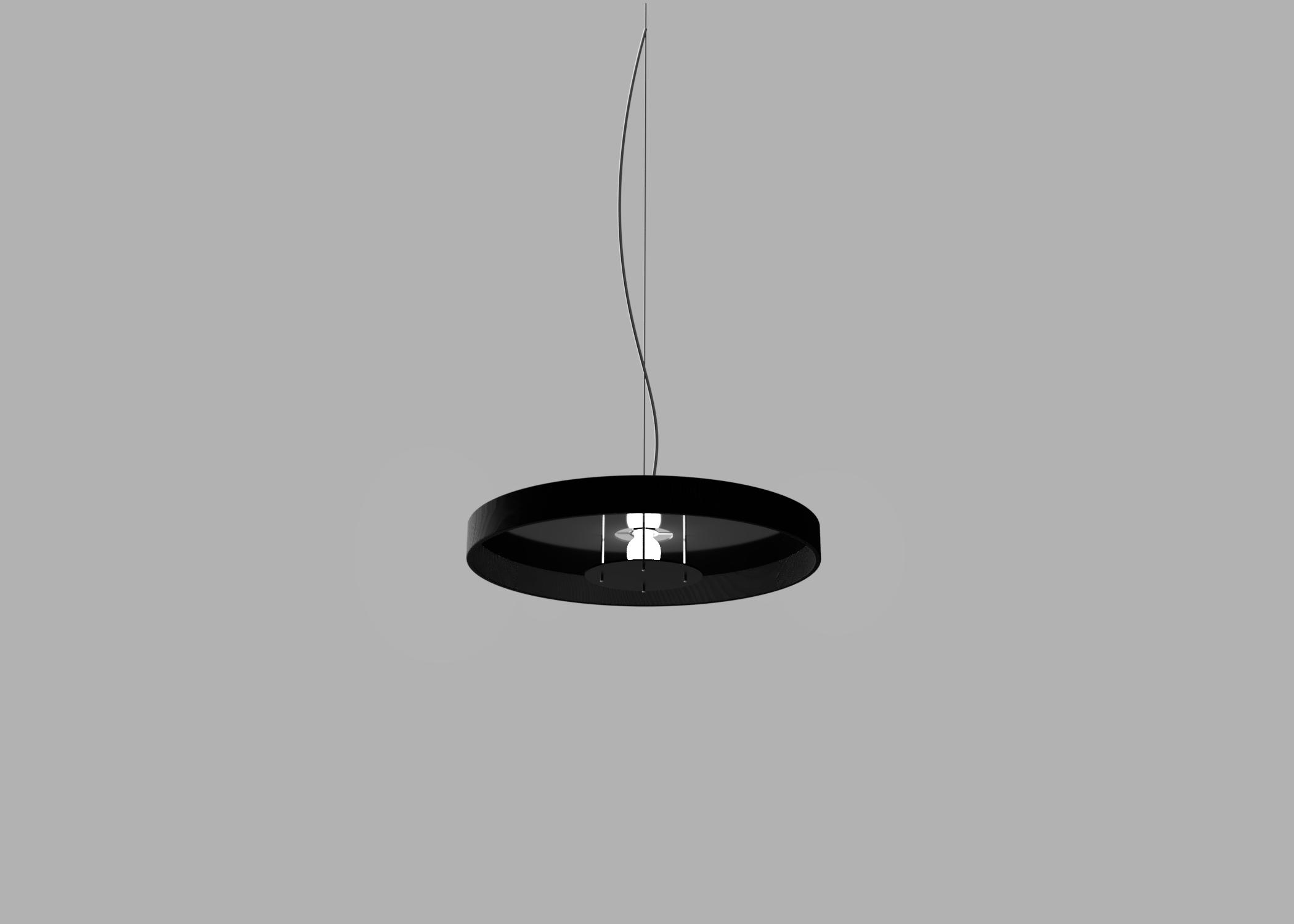 Black Oak Lamp